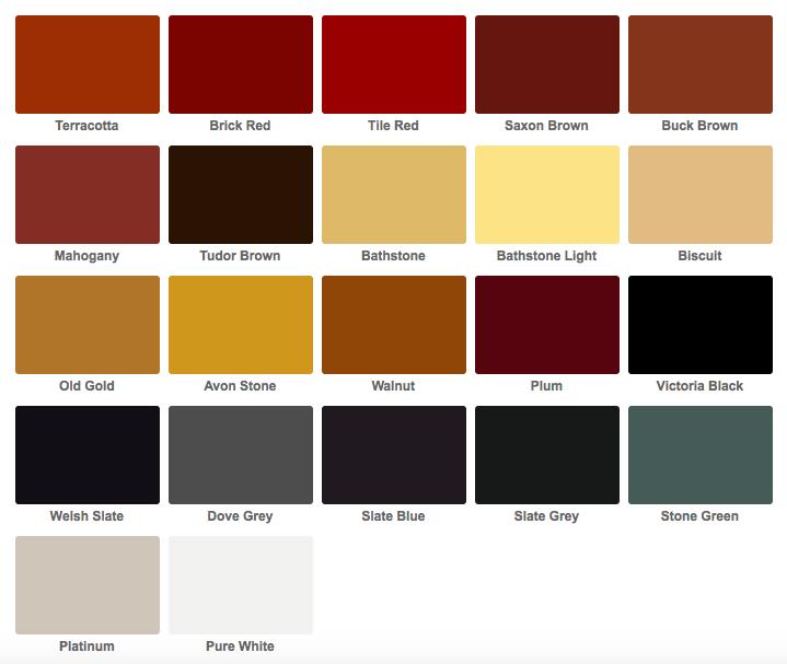 Resin Driveway Colour Range